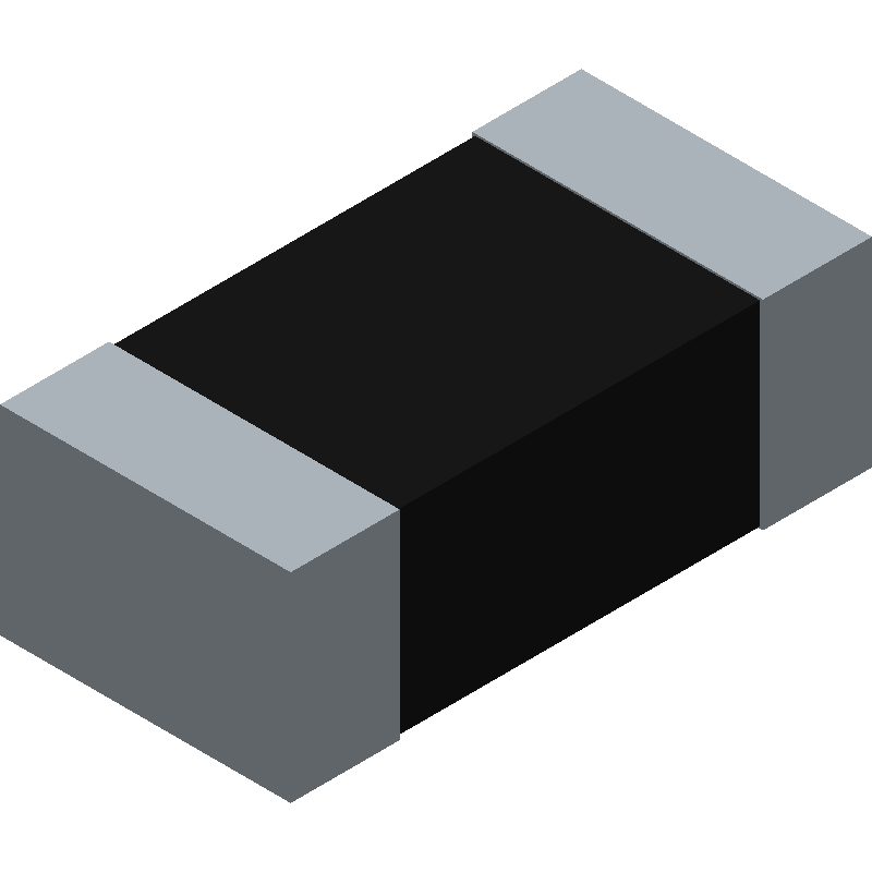 Panasonic ERA-3AEB2262V (Resistor Chip) 3D model isometric projection.